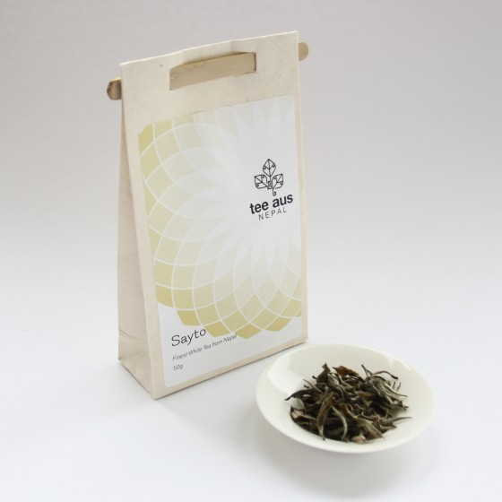 sayto weißer tee aus nepal
