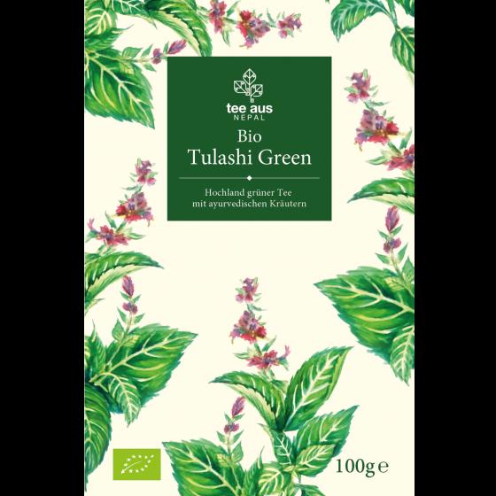 Bio Tulashi Green Bio Tulashi Grün Bio Tulsi Tee aus Nepal