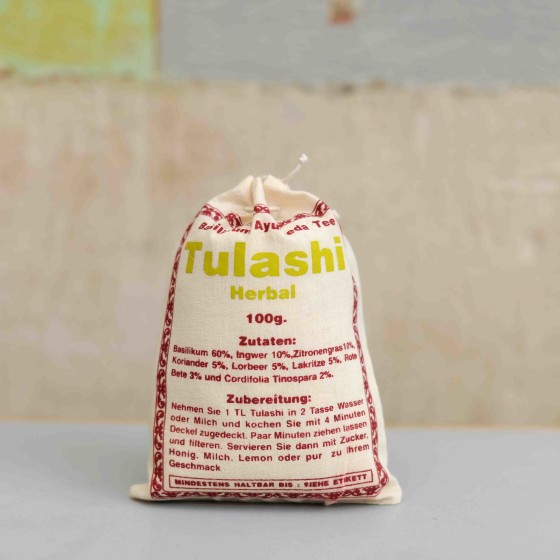 Tulashi herbal tee aus nepal