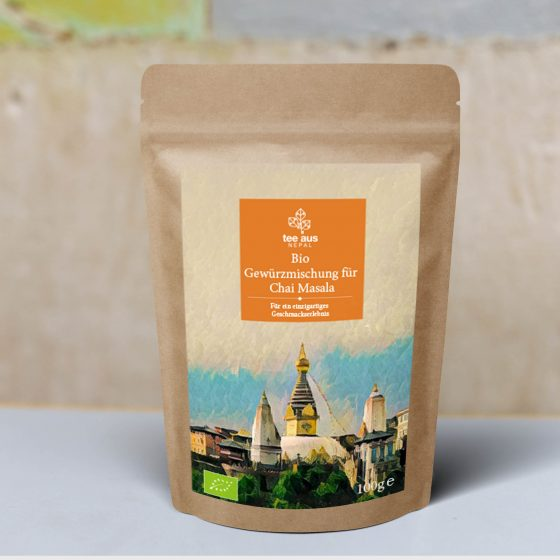 Bio Chai Masala Tee aus Nepal