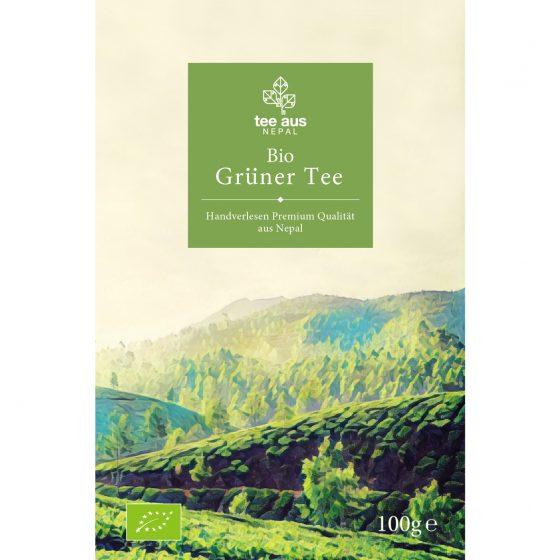 Bio Grüner Tee aus Nepal